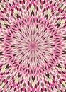 Pink Brown Kaleidoscope Wallpa...