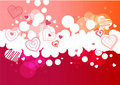 Pink bubble  background Stock Photography