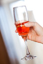 Pink champagne Royalty Free Stock Photography