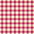 Pink Check Diamond Tartan Scot...