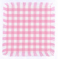 Pink checkered Stock Photo