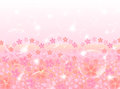 Pink cherry background Stock Images