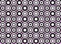 Pink circle pattern. Vector Royalty Free Stock Photos