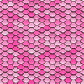 Pink Circular Tiles Pattern Royalty Free Stock Photography