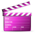 Pink Clapboard Stock Photos