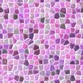 Pink colored abstract marble irregular plastic stony mosaic pattern texture seamless background Royalty Free Stock Photo