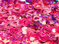 Pink confetti background Royalty Free Stock Images