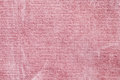 Pink corduroy close up as a texture image Stock Photo