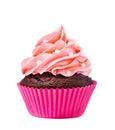 Pink Cupcake Royalty Free Stock Photo