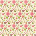 Pink dots Stock Image