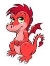 Pink dragon Royalty Free Stock Photo