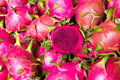 Pink Dragon fruit Royalty Free Stock Image