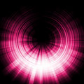 Pink eclipse effect Royalty Free Stock Photos