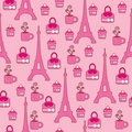 Pink elegant bright wallpaper Stock Images