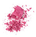Pink eyeshadow isolated on white background Stock Images