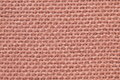 Pink fabric texture close up shot Royalty Free Stock Photography