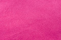 Pink fleece a background of soft material Royalty Free Stock Photography