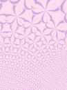 Pink floral fractal background Royalty Free Stock Photo