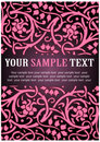 Pink floral pattern Royalty Free Stock Photo