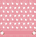 Pink floral pattern Royalty Free Stock Image