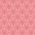 Pink Floral Patterns Stock Images