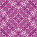 Pink Floral tile Stock Photo