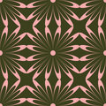 Pink flower pattern Royalty Free Stock Photo