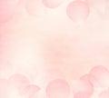 Pink Flower Petals Background.