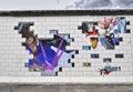 Pink floyd ściana w berlin Fotografia Stock