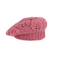 Pink french beret Royalty Free Stock Photo