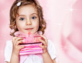 Pink gift Royalty Free Stock Photo