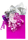 Pink gift bag Royalty Free Stock Photo
