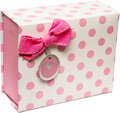 Pink Gift Box Royalty Free Stock Photo