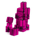 Pink gift boxes Stock Images