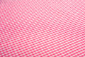 Pink Gingham Background Royalty Free Stock Image