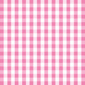 Pink gingham background a image Stock Photos