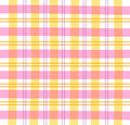Pink Gingham Plaid Royalty Free Stock Photo