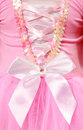 Pink girls dance outfit Royalty Free Stock Images