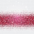 Pink glitter abstract background. Tinsel shiny backdrop. Luxury Royalty Free Stock Photo