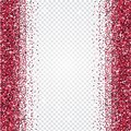 Pink glitter abstract background. Tinsel shiny backdrop. Royalty Free Stock Photo