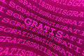 Pink gratis background Stock Photography