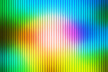 Pink green blue abstract with light lines blurred background
