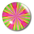 Pink Green Button Orb Royalty Free Stock Photo
