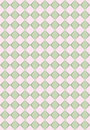 Pink and green rhombus texture Stock Photography