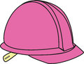Pink Hard Hat Royalty Free Stock Photo