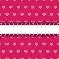 Pink heart background Royalty Free Stock Photo