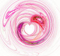 Pink Heart Background Royalty Free Stock Photos