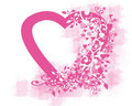Pink Hearts Stock Image