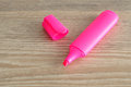 Pink highlighter Royalty Free Stock Photo