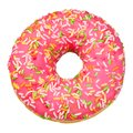 Pink donut isolated Royalty Free Stock Photo